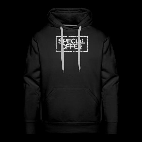 Special Offer T-Shirt (Herren Schwarz Weiß) - Männer Premium Hoodie