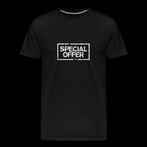 Special Offer T-Shirt (Herren Schwarz Weiß) - Männer Premium T-Shirt