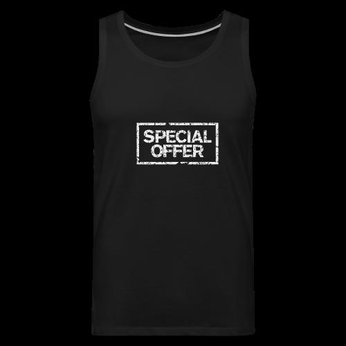 Special Offer T-Shirt (Herren Schwarz Weiß) - Männer Premium Tank Top