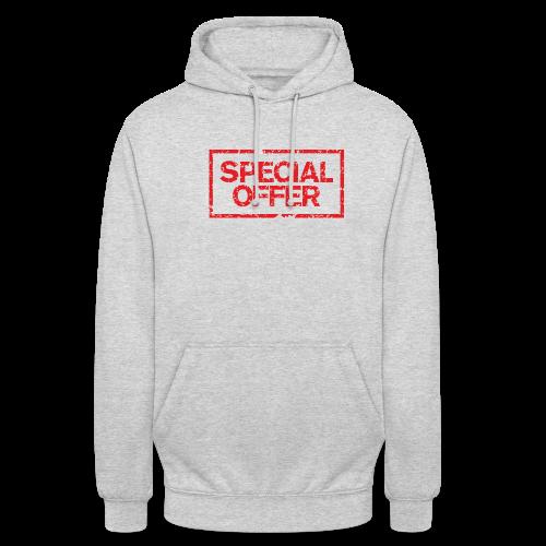 Special Offer T-Shirt (Herren Weiß Rot) - Unisex Hoodie