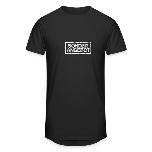 Sonderangebot T-Shirt (Damen Schwarz Weiß) - Männer Urban Longshirt
