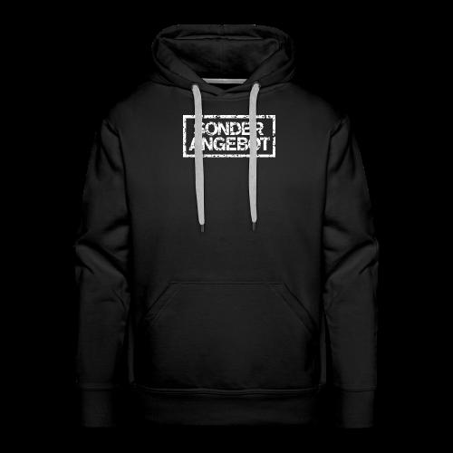 Sonderangebot T-Shirt (Damen Schwarz Weiß) - Männer Premium Hoodie