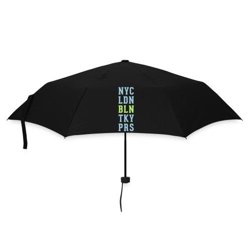 New York City - London - Berlin - Tokyo - Paris - Regenschirm (klein)