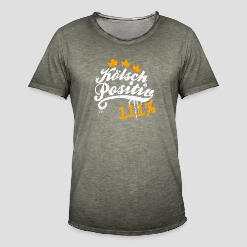 KölschPositiv 111% Graffiti-Logo - Männer Vintage T-Shirt