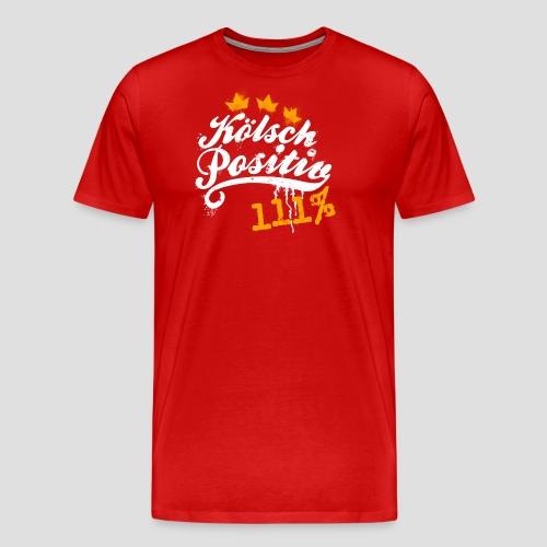KölschPositiv 111% Graffiti-Logo - Männer Premium T-Shirt