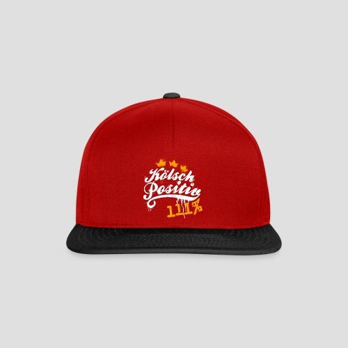 KölschPositiv 111% Graffiti-Logo - Snapback Cap