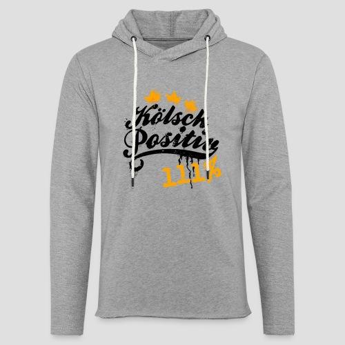 KölschPositiv 111% Graffiti-Logo - Leichtes Kapuzensweatshirt Unisex