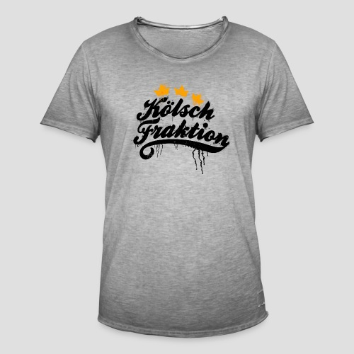 KölschFraktion Graffiti-Logo - Männer Vintage T-Shirt