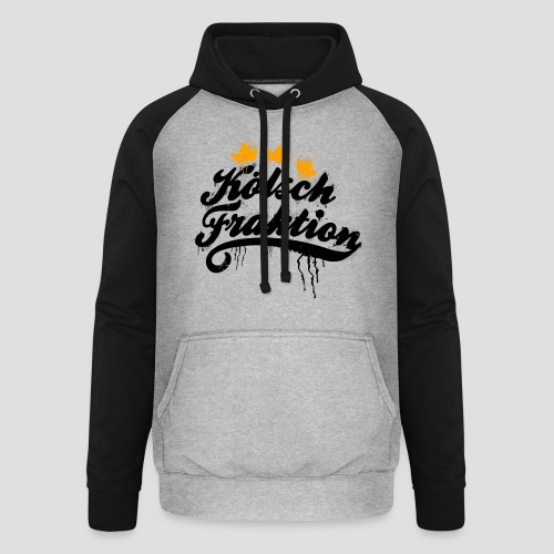 KölschFraktion Graffiti-Logo - Unisex Baseball Hoodie