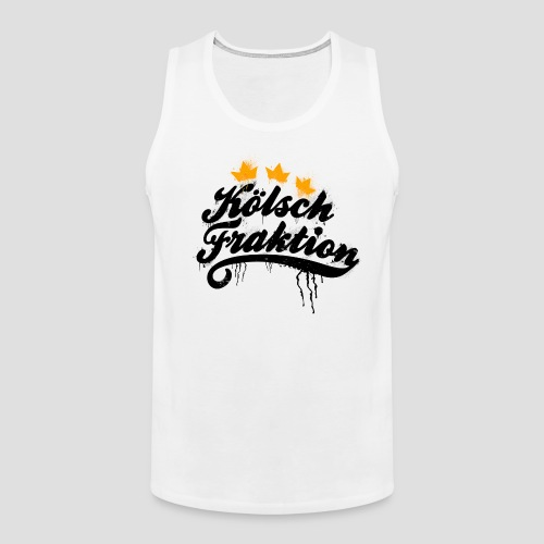 KölschFraktion Graffiti-Logo - Männer Premium Tank Top