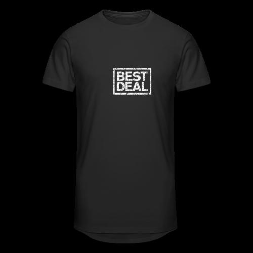 Best Deal T-Shirt (Damen Schwarz Weiß) - Männer Urban Longshirt