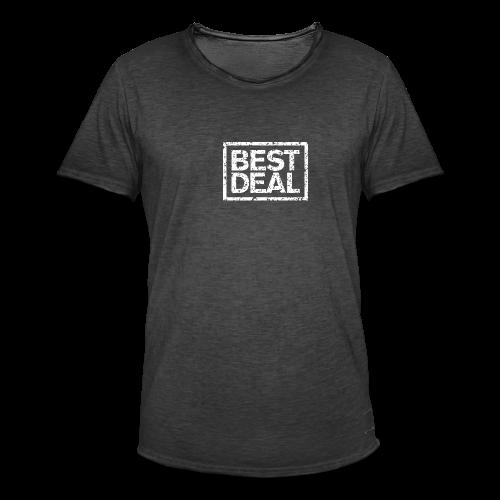 Best Deal T-Shirt (Damen Schwarz Weiß) - Männer Vintage T-Shirt