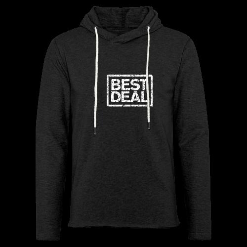 Best Deal T-Shirt (Damen Schwarz Weiß) - Leichtes Kapuzensweatshirt Unisex