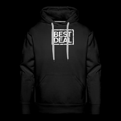 Best Deal T-Shirt (Damen Schwarz Weiß) - Männer Premium Hoodie