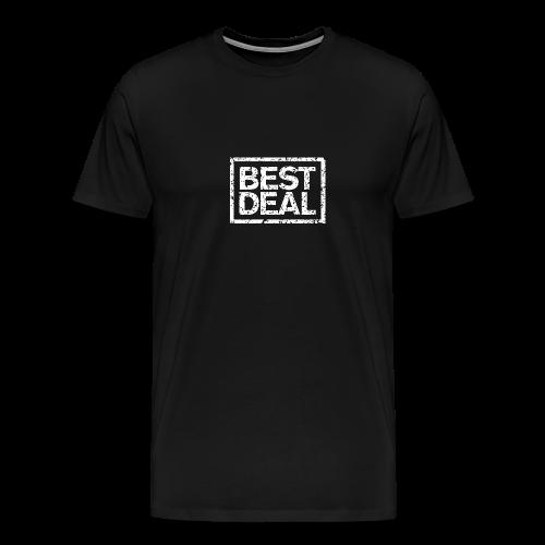 Best Deal T-Shirt (Damen Schwarz Weiß) - Männer Premium T-Shirt