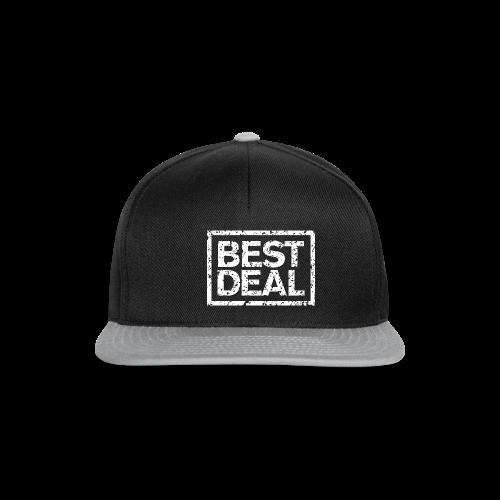 Best Deal T-Shirt (Damen Schwarz Weiß) - Snapback Cap