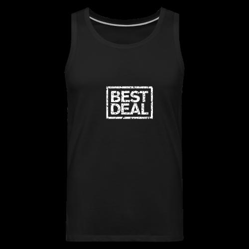 Best Deal T-Shirt (Damen Schwarz Weiß) - Männer Premium Tank Top