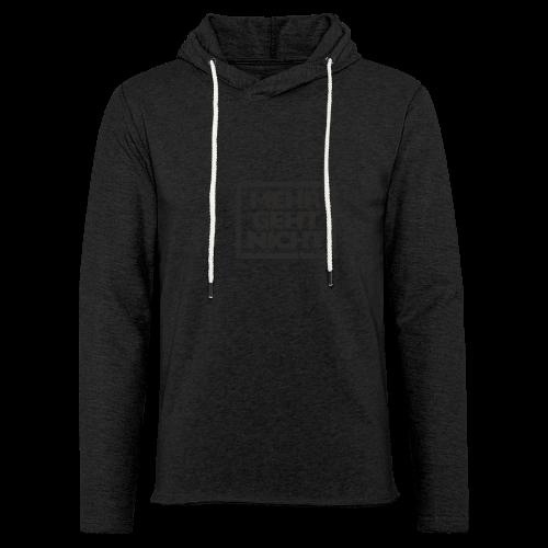 Mehr geht nicht T-Shirt (Damen Weiß Schwarz) - Leichtes Kapuzensweatshirt Unisex