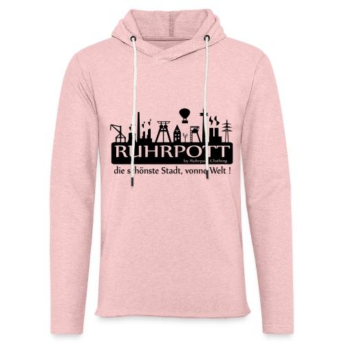 Ruhrpott die schönste Stadt, vonne Welt! - Frauen Hoodie - Leichtes Kapuzensweatshirt Unisex