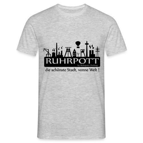 Ruhrpott die schönste Stadt, vonne Welt! - Frauen Hoodie - Männer T-Shirt