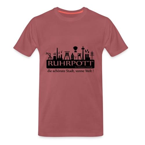 Ruhrpott die schönste Stadt, vonne Welt! - Frauen Hoodie - Männer Premium T-Shirt