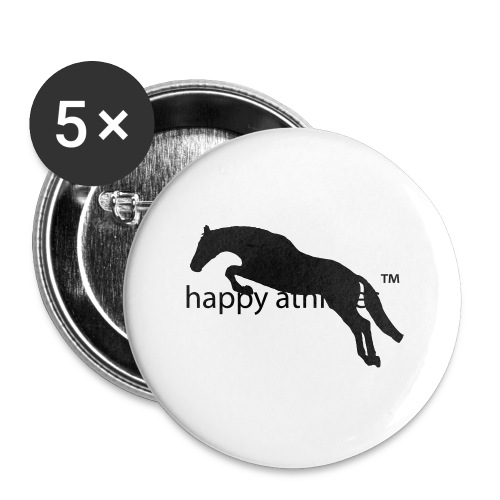 Kaputzenjacke - Buttons groß 56 mm (5er Pack)