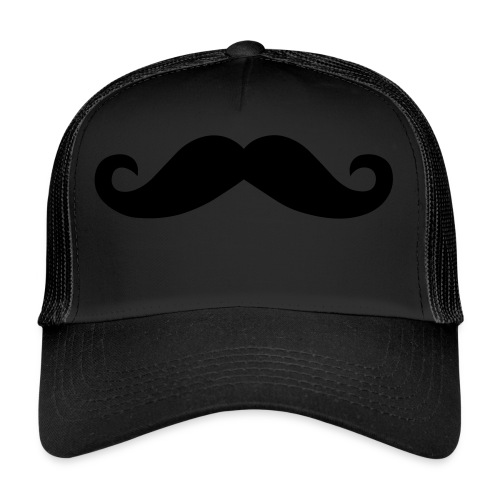 Moustache Beanie Mütze Mustache Schnurrbart - Trucker Cap