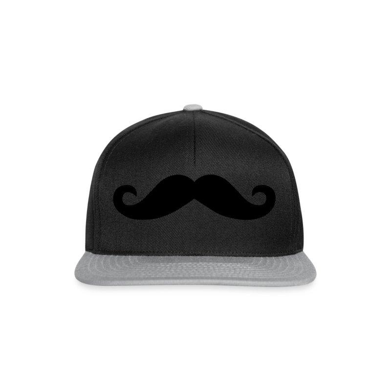 Moustache Beanie Mütze Mustache Schnurrbart - Snapback Cap