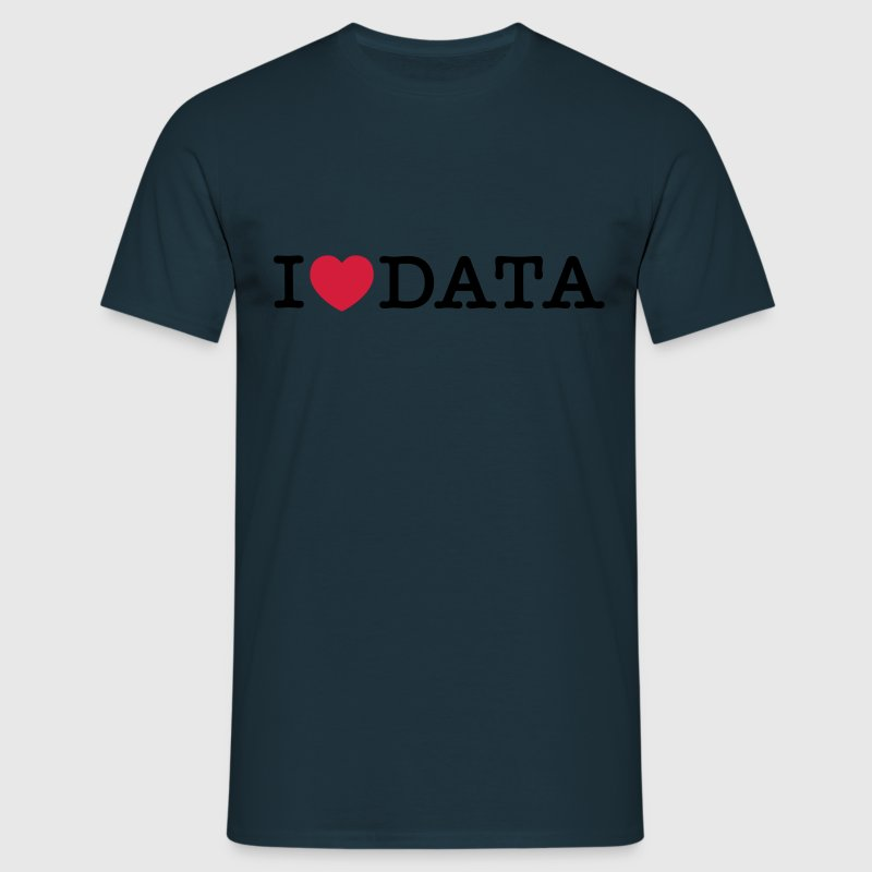 I Love Data - T-shirt Homme
