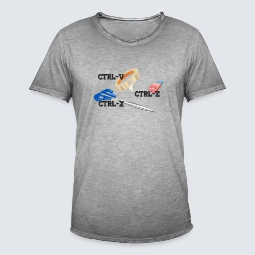 Steuerung V und Steuerung Z - Männer Vintage T-Shirt