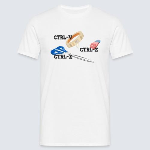 Steuerung V und Steuerung Z - Männer T-Shirt