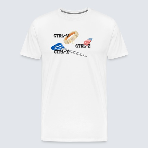 Steuerung V und Steuerung Z - Männer Premium T-Shirt