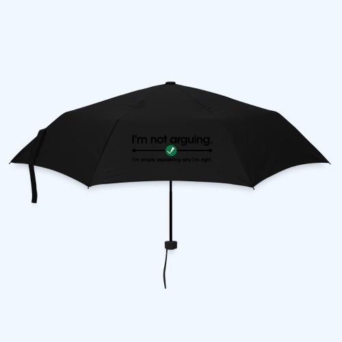 I'm not arguing T-Shirt - Umbrella (small)