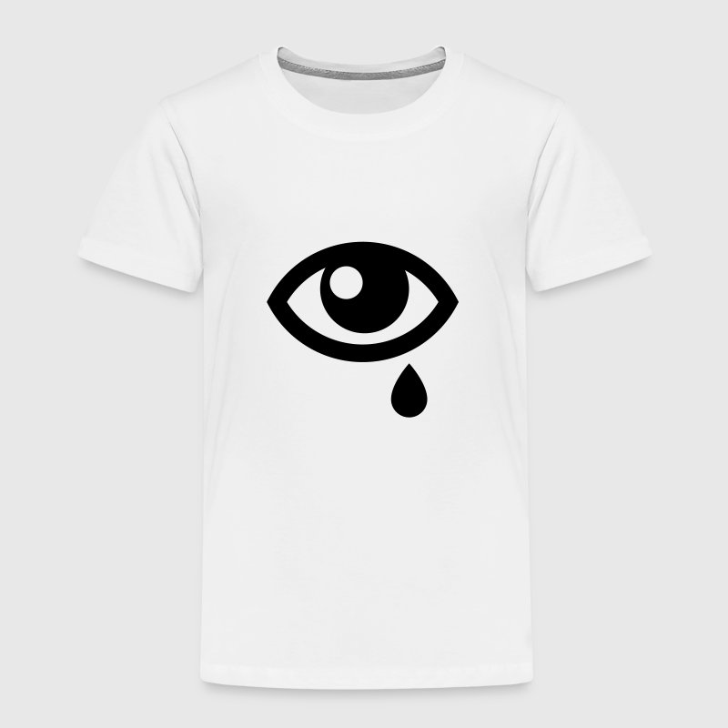 crying eye Shirts - Kids' Premium T-Shirt