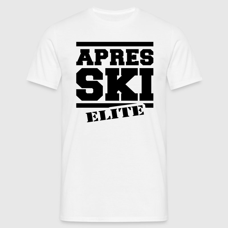afterski elite T-shirts - Herre-T-shirt