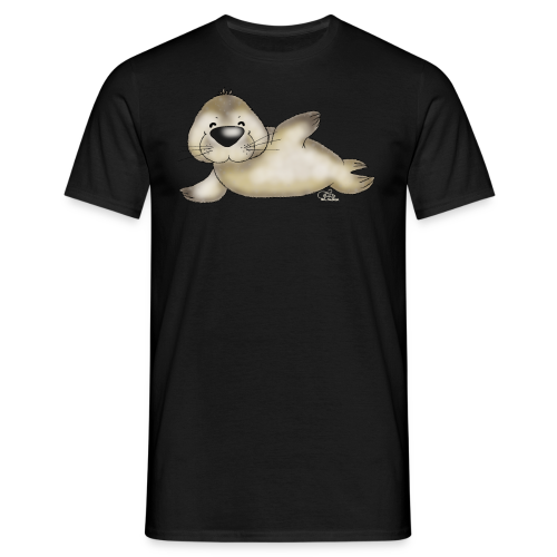 TeenieShirt Robbert, der kleine Heuler - Männer T-Shirt