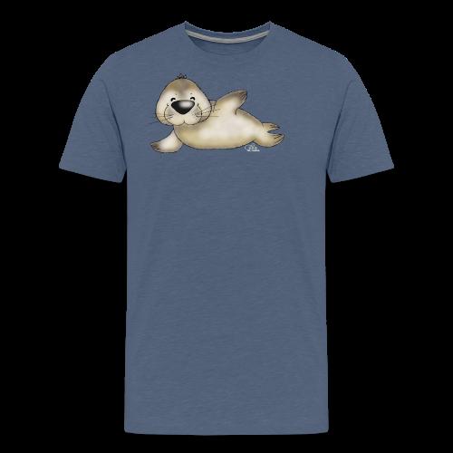 TeenieShirt Robbert, der kleine Heuler - Männer Premium T-Shirt