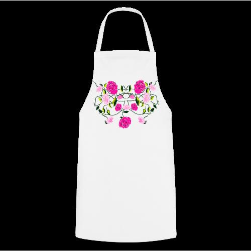 Langarmshirt für Frauen mit Rosen - Kochschürze