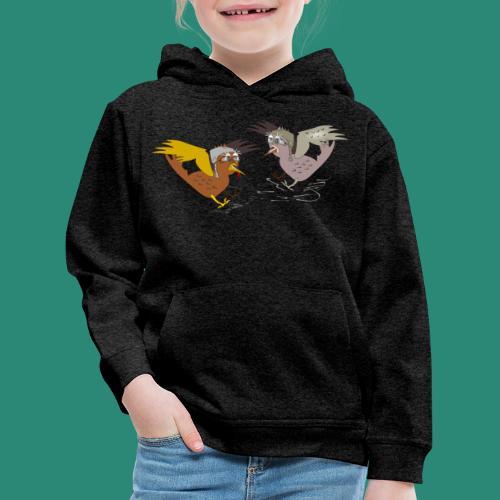 Langarmshirt für Frauen - Kinder Premium Hoodie