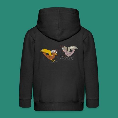 Langarmshirt für Frauen - Kinder Premium Kapuzenjacke