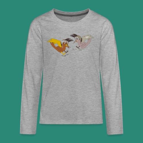 Langarmshirt für Frauen - Teenager Premium Langarmshirt