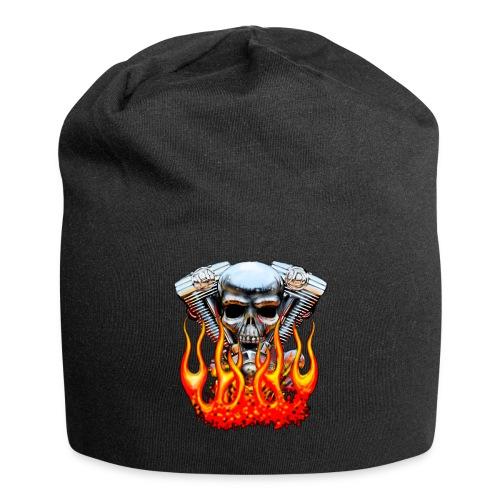 Skull  Flaming  - Bonnet en jersey