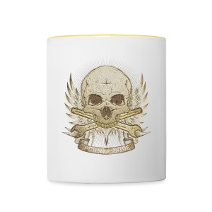Born To Ride - Stone   Man - Tasse zweifarbig