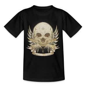 Born To Ride - Stone   Man - Teenager T-Shirt