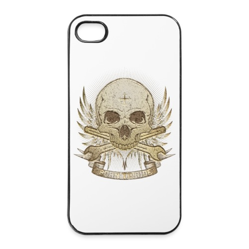 Born To Ride - Stone   Man - iPhone 4/4s Hard Case