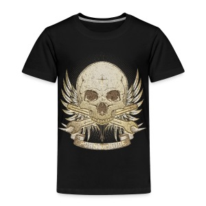 Born To Ride - Stone   Man - Kinder Premium T-Shirt