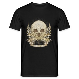 Born To Ride - Stone   Baby - Männer T-Shirt