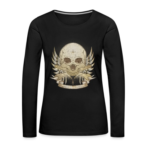 Born To Ride - Stone   Baby - Frauen Premium Langarmshirt
