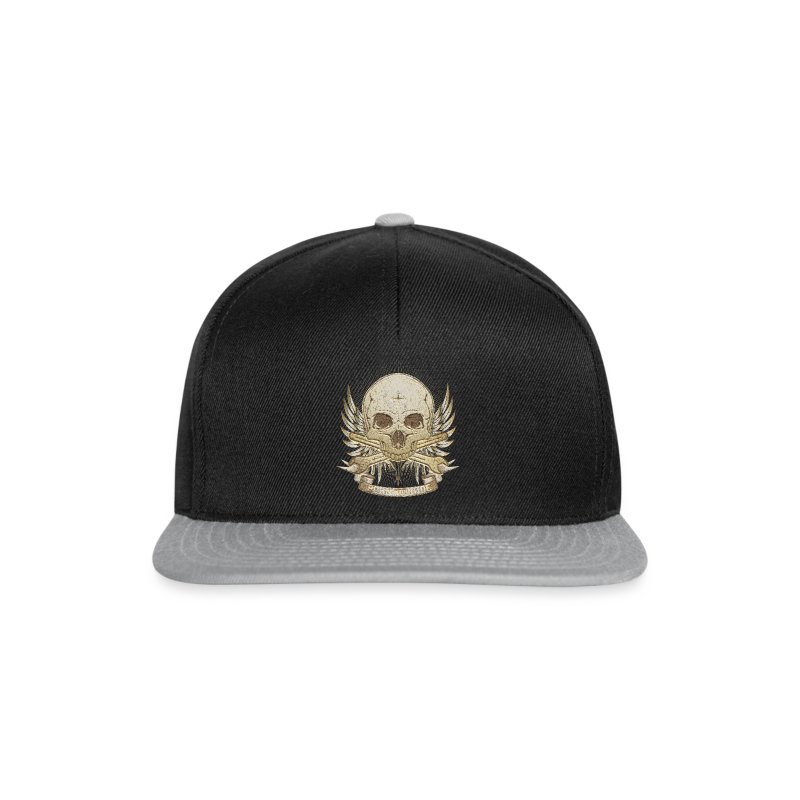 Born To Ride - Stone   Baby - Snapback Cap