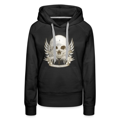 Born To Ride - Vintage   Man - Frauen Premium Hoodie